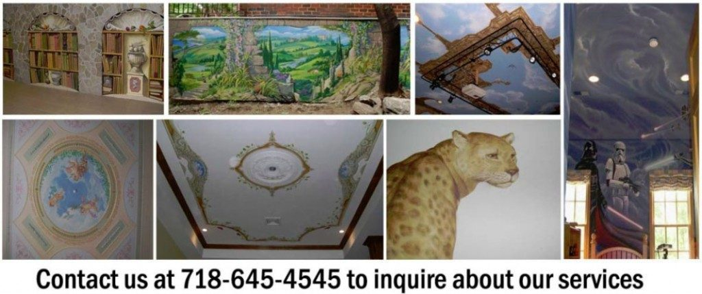home business mural