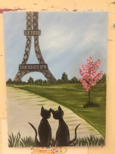 Art Class - Cats in Paris - Art Station