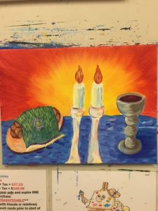Passover Painting - For Classes and Parties at the Art Station, The Art, Party, and Framing Place