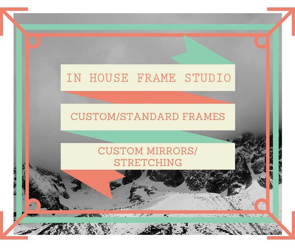 In House Frame Studio at Art Station, The Art, Party, and Framing Place