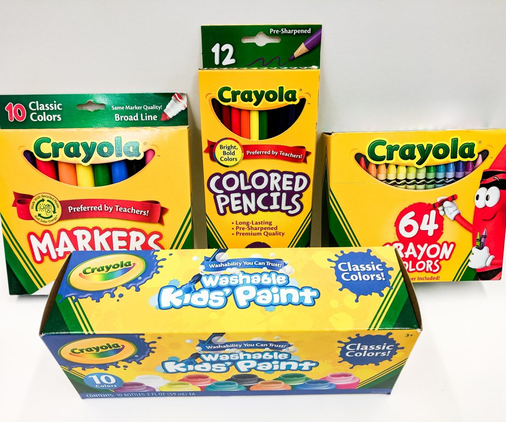 Crayola at the Art Station