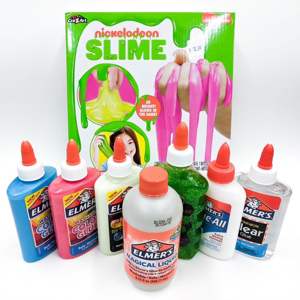Slime Supplies at the Art Station