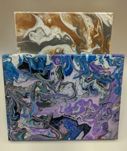 Pour Paint Class - Crafty Wednesday