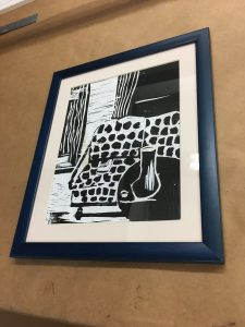 fraME FRAMING and matting AT THE ART STATION