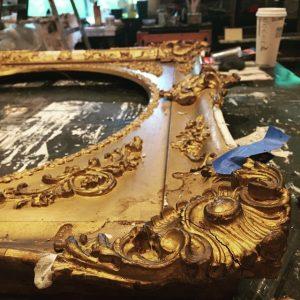 restoration of antique frames