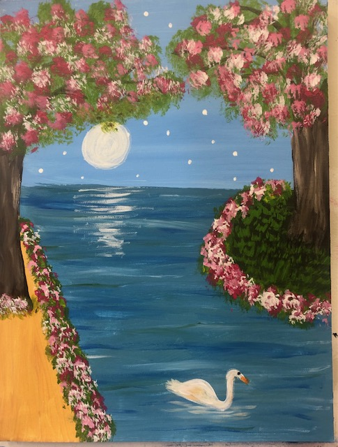 Art Station- Acrylic Painting Class Schedule