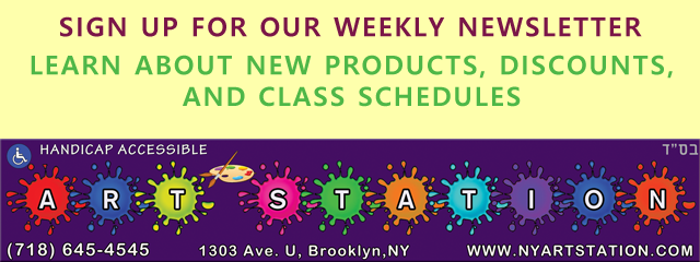 NEWSLETTER SIGN UP FOR BROOKLYN ART SUPPLIES AND CLASSES