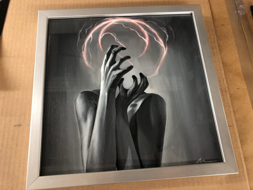 Silver Frame by Art Station